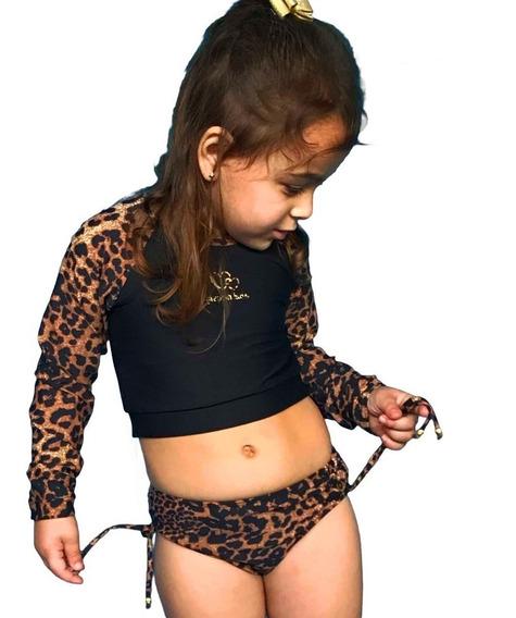 Biquini Infantil Com Proteção Solar Uv Grappin Promoção