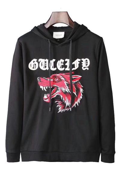 Sudadera Gucci Con Motivo De Lobo
