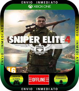 Sniper Elite 4xbox 1 Local Mode