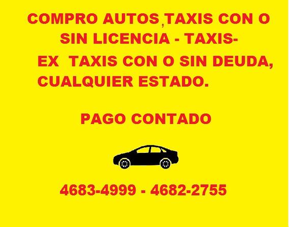Licencia De Taxi Con Ó Sin Auto Compro-suran-siena-prisma--