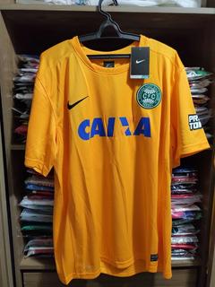 Camisa Coritiba Goleiro 13/14 - G - Nike - Nova Na Etiqueta