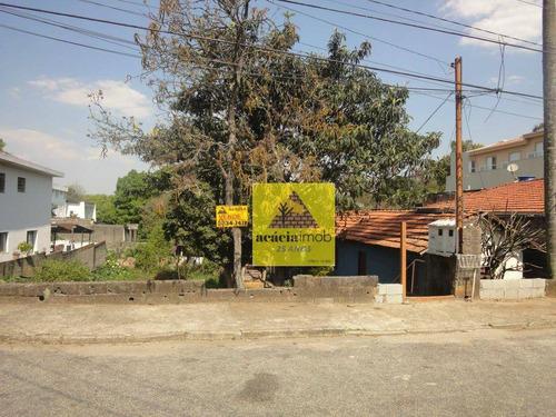 Imagem 1 de 1 de Terreno À Venda, 800 M² Por R$ 1.600.000,00 - Jaraguá - São Paulo/sp - Te0161