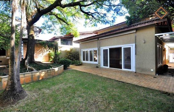 Casa 512 M² Terreno, 297 ² Útil, 4 Dorms Sendo 2 Sutes, Lavabo, 2 Salas, Jardins, Churrasqueira, R$ 15.000,00 - Ca2587