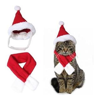 Traje De Navidad Para Gato O Perro Pequeño Mascota