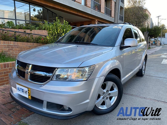 Dodge Journey Sxt Tp 2700cc V6 7 Puestos Sun Roof