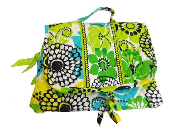 Vera Bradley Viaje Make Up Bag Protege Organiza Transporta