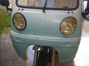Triciclo Motocar Mca-200 Com Baú