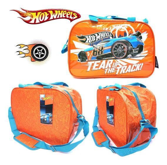Bolso Infantil Hot Wheels Mattel 100% Original !!