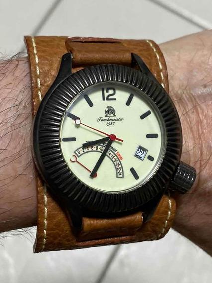 Relógio Tauchmeister Peça De Colecionador Sem Caixa Manual