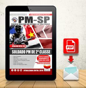 Apostila Digital Lançamento Pm-sp - Soldado Pm 2ª Classe