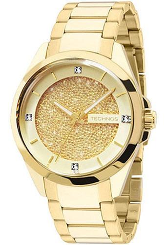 Relógio Technos Feminino Dourado Elegance 203aaa/4x