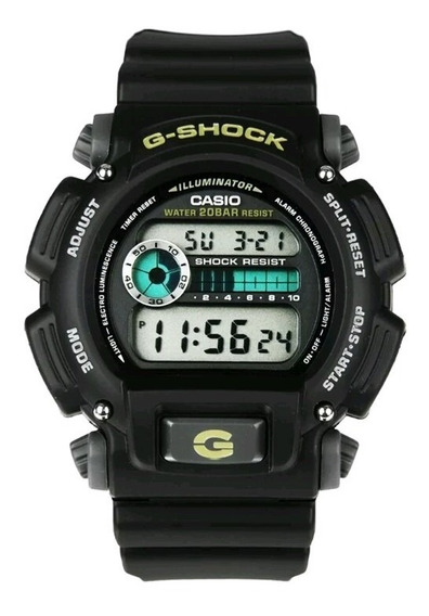Relogio Casio G-shock Dw9052-1b Digital