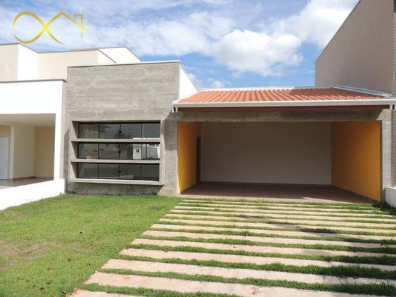 Casa Térrea Com 3 Dormitórios À Venda, 160 M² Por R$ 600.000 - Condomínio Campos Do Conde Ii - Paulínia/sp - Ca1456