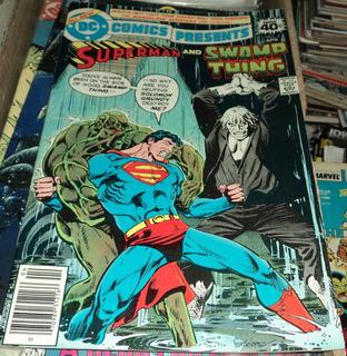 Super Homem Vs Monstro Do Pantano Salomon Grundy Dc Comics