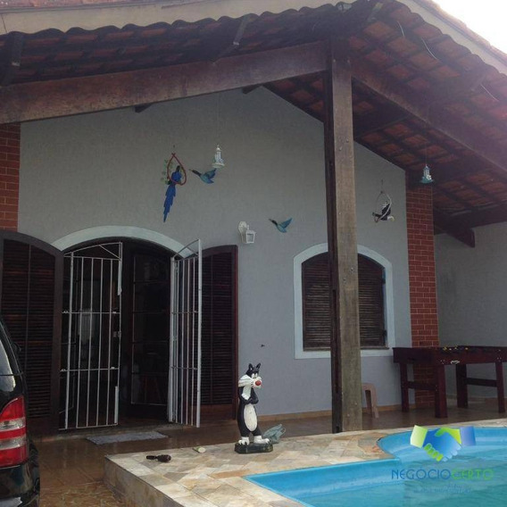 Casa Temporada Para Locação, Parque Balneário Itanhaem, Itanhaém - Ca0075. - Ca0075