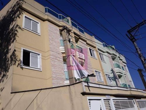 Cobertura Com 2 Dormitórios À Venda, 100 M² Por R$ 360.000 - Vila Metalúrgica - Santo André/sp - Co0741