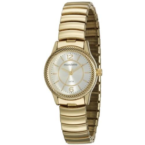 Relógio Feminino Mondaine Dourado Analógico 53541lpmvde1