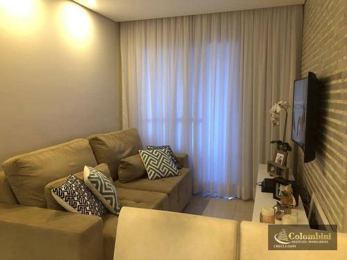 Imagem 1 de 30 de Apartamento Com 2 Dormitórios À Venda, 67 M² - Fundação - São Caetano Do Sul/sp - Ap1312
