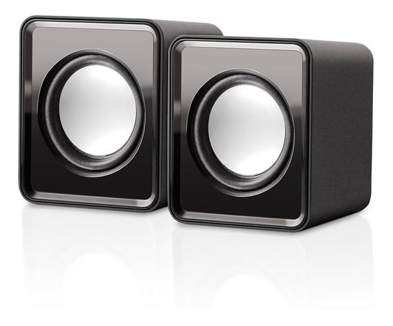 Mini Caixa De Som Multilaser Sp151 2.0 3w Rms Bivolt Usb