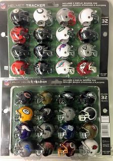 Nfl Set 32 Mini Cascos Riddell Steelers 49ers Dallas Miami