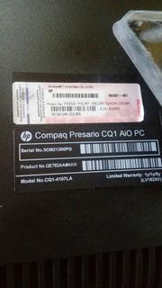 Computador Todo En Uno Compaq Cq1 4107la Desarme