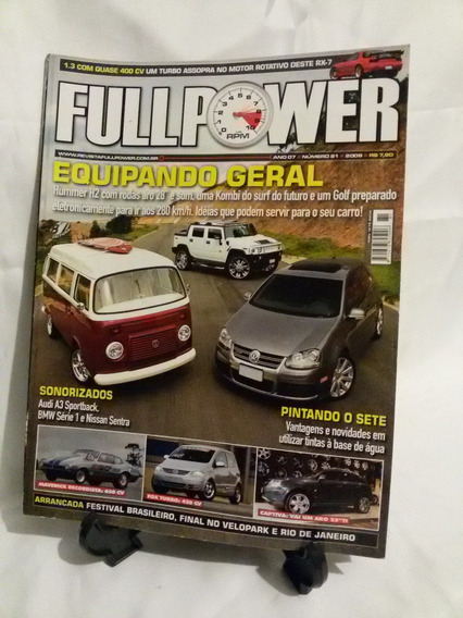 Antiga Revista Fullpower- Nº 81- Equipando Geral- Nº 4471g
