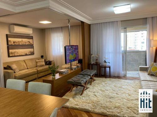 Apartamento À Venda, 98 M² Por R$ 904.000,00 - Vila Dom Pedro I - São Paulo/sp - Ap3723