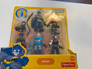 Muñecos Imaginext Dc Súper Friends