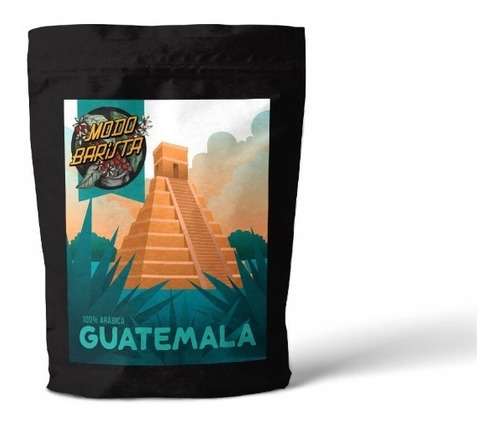 Imagen 1 de 2 de Cafe De Especialidad Grano Tostado Guatemala Barista 1/4 Kg