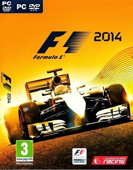 F1-formula 1 2014 Pc Frete Gratis Envio No Mesmo Dia!