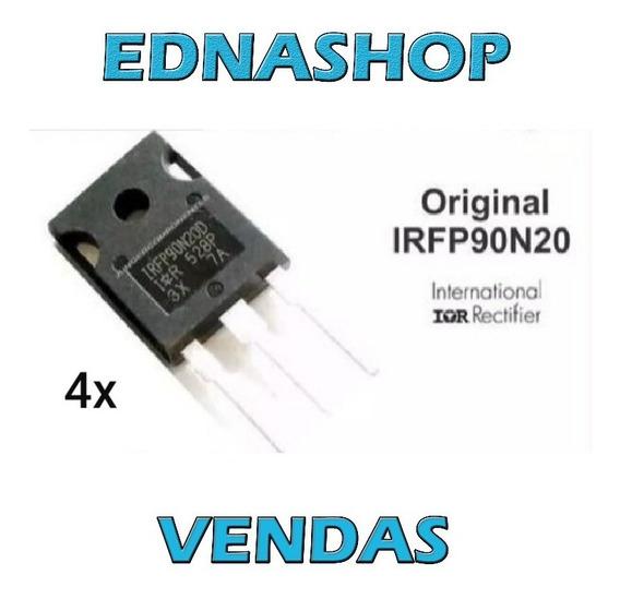 4x Transistor Irfp90n20d 90n20d Original Modulo Banda