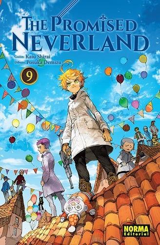 Imagen 1 de 1 de Manga The Promised Neverland Tomo 09 - Norma Editorial