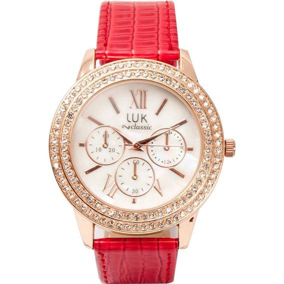 Relógio Feminino Luk Analógico Clássico Luk Gs1elwj4191re