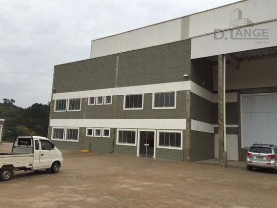 Galpão Comercial Para Locação, Bairro Dos Pintos, Itatiba. - Ga0448