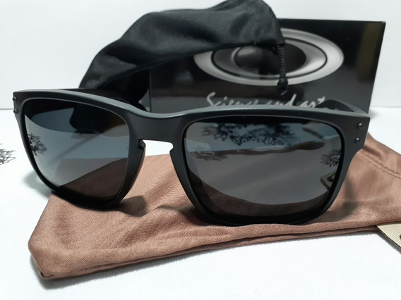 Óculos Polarizados Oakley Holbrook Preto Estoque Limitado(fotos E Video Reais)