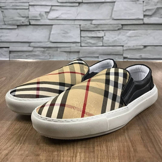 Slip On Burberry Iate Frete Gratis Shoes