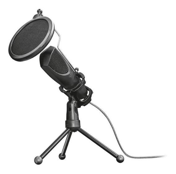 Microfone Mantis Gxt 232 Streaming Pc Pronta Entrega