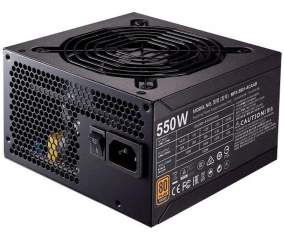 Fonte Atx 550w Reais Gamer Dex Dx-550 80 Plus Bronze