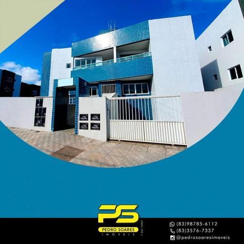 Apartamento Com 2 Dormitórios À Venda, 50 M² Por R$ 129.900 - João Paulo Ii - João Pessoa/pb - Ap3050