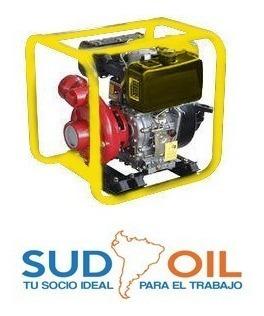Moto Bomba De Agua Semi Solidos 4  A Diesel 13 Hp