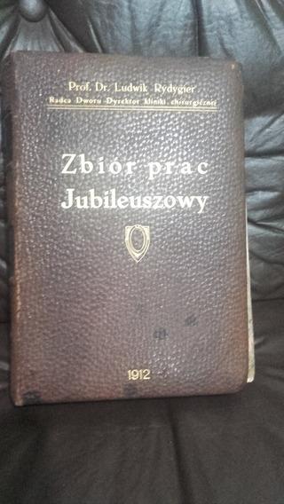 Livro Raro De Medicina Antigo Ano 1912