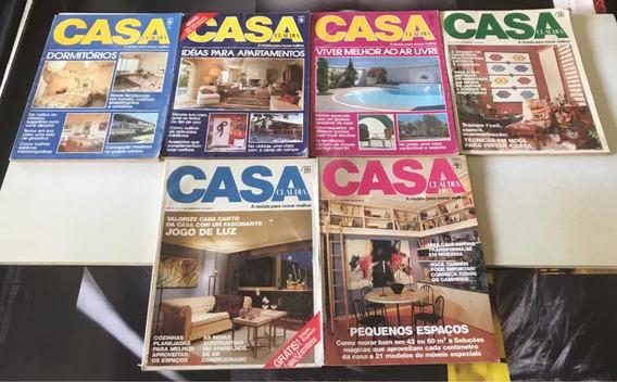 Coleção Casa Claúdia ( Lote De 6 Revistas)