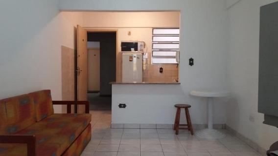 Kitnet Em Mirim, Praia Grande/sp De 32m² 1 Quartos À Venda Por R$ 115.000,00 - Kn137336