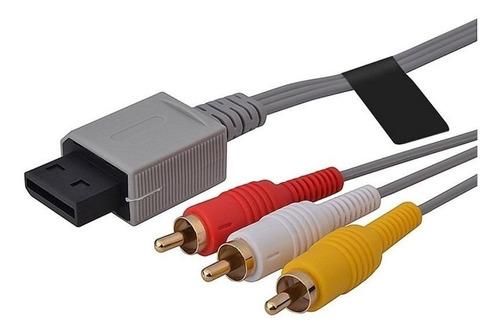 Cable Audio Y Video Original Nintendo Wii - Factura A / B