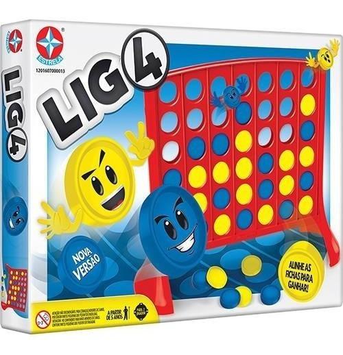 Jogo Lig 4 - Estrela Original