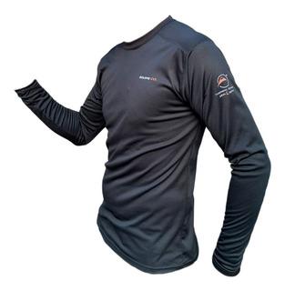 Remera Termica Hombre Frizada Respirable Camiseta Invierno