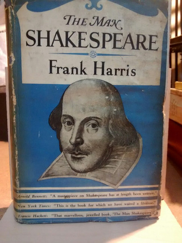 The Man Shakespeare - Frank Harris - Bonibooks
