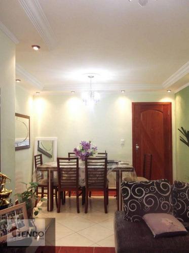 Imagem 1 de 18 de Imob03 - Apartamento Com 2 Dormitórios À Venda, 53 M² Por R$ 208.000 - Parque São Vicente - Mauá/sp - Ap3047