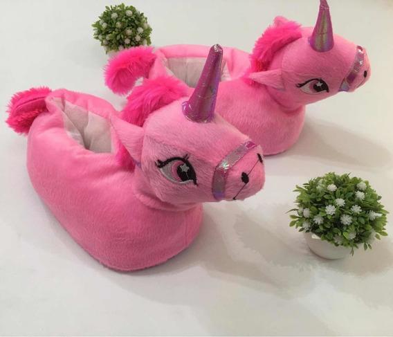 Pantuflas Unicornio Ajustables Para Niñas/nenas