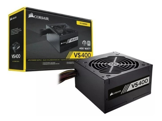 Fonte Real Gamer Atx Corsair 80plus 400w Pfc Ativo Envio 24h